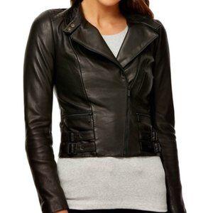 KOOKAI Ramone Black Leather Jacket RRP$550